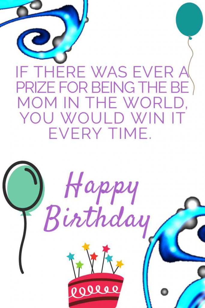 Happy Birthday Mom Messages with Images