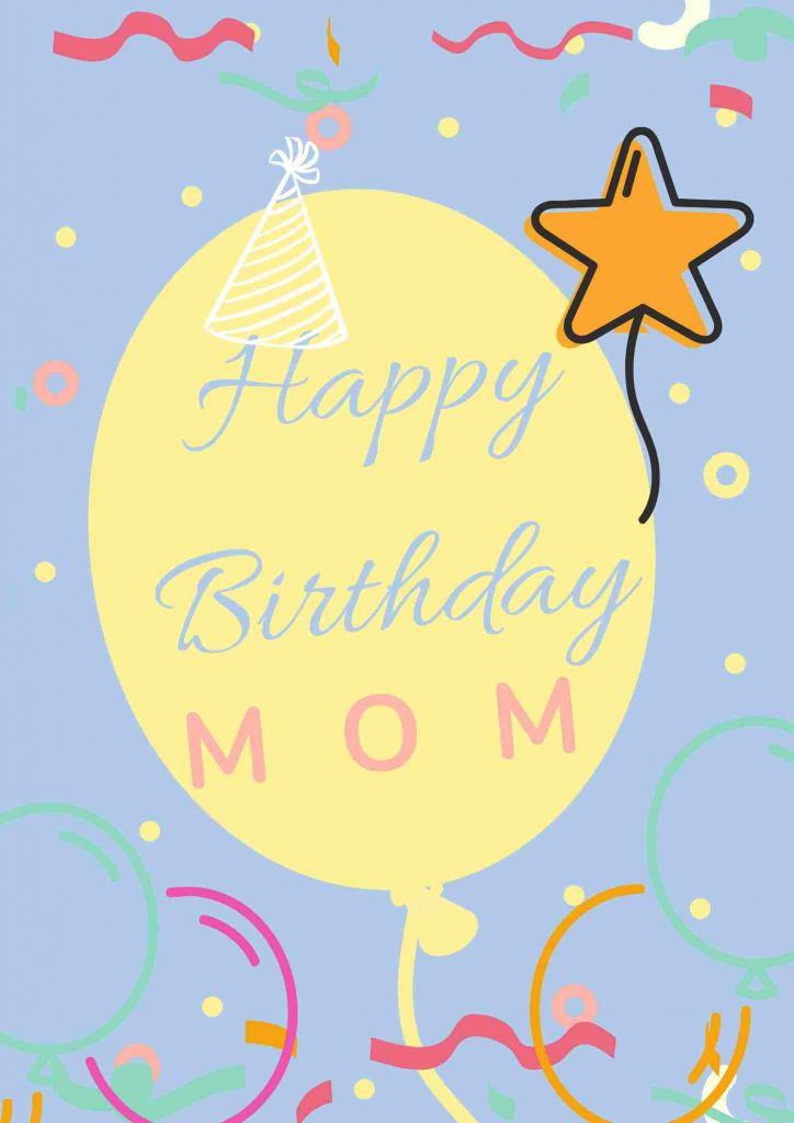 happy birthday mom letter