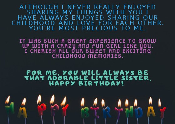 HAPPY BIRTHDAY SISTER IMAGES & QUOTES HD PICS