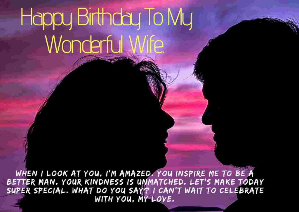 romantic birthday images for wife