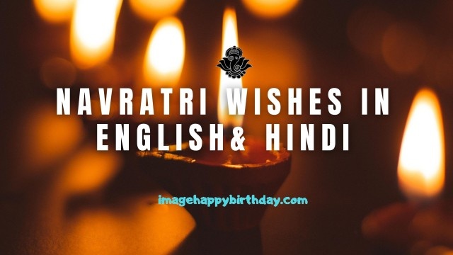 Navratri Wishes in english